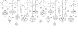 Christmas ornaments template