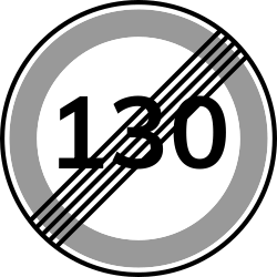 Speed limit 130 | Avoid fines by driving under the allowed speed