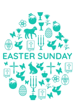 Easter Sunday customizable template