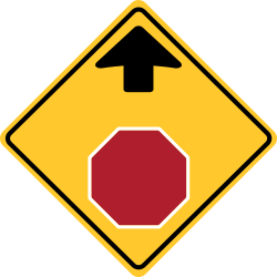 Stop sign | Slow down to stop Road sign