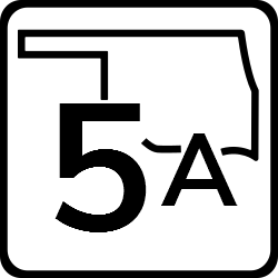 Oklahoma Two Digit state highway shield sign | Regulatory Road Signs