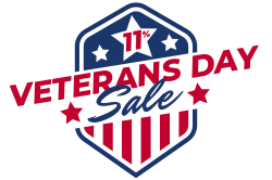Veterans Day promotional signage template