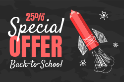 Back to school special offer template