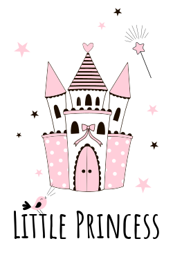 Little princess castle template