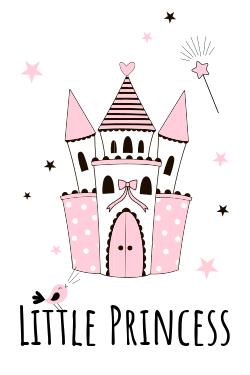 Little princess castle template