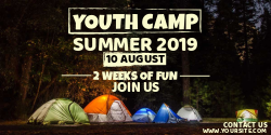 Youth camp | Summer 2019 | 2 Weeks of Fun