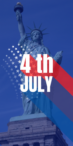 4th Of July Poster Celebrate The Independence Day