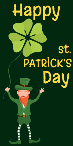 Happy St. Patrick's day template | State Holidays