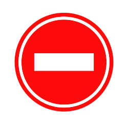 Stop sign | Providing privacy in a certain zone