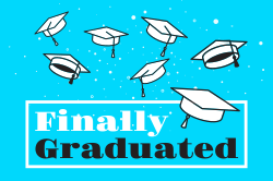 Graduation party banner template