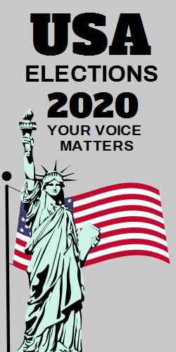 Elections 2020 Your Voice Matters Statue Of Liberty