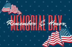 Memorial Day template for custom signs