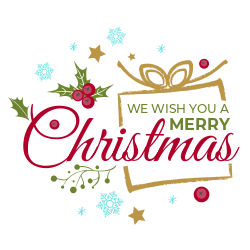 Christmas decorative sign template