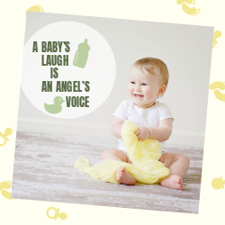A Baby's laugh is an angel's voice | Mom & toddler