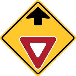 Yield Ahead Sign | You should stop and obey the give way rules