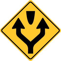Pass left or right sign | Keep right, except to pass