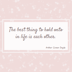 Arthur Conan Doyle quote for Valentine's Day