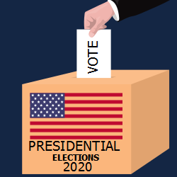 Presidential Elections 2020 Casting The Choice Into The Box