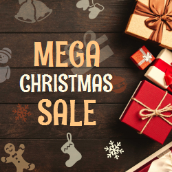 Mega Christmas Sale | Changeable Template