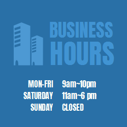 Want people to know what your business hours are? What time you open and what time you close? This printable sign template is perfect for your business!