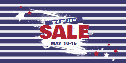 4th of July Sales | Customizable Template