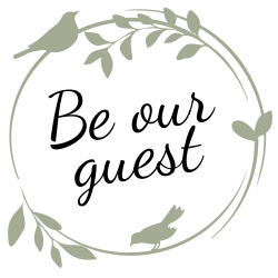 Guest welcoming sign template