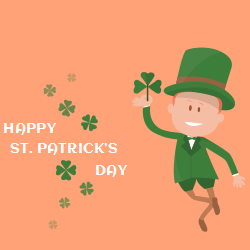 St. Patrick's Day decorative template to make the day memorable