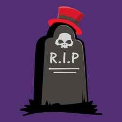 RIP Halloween sign template