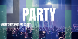 DJ Party | Customize the template to your special event