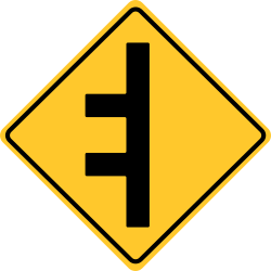 Double Sided traffic signs | Warn people coming from either direction