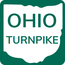 Ohio Turnpike shield two colored template