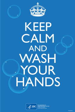 CDC COVID 19 template   wash your hands