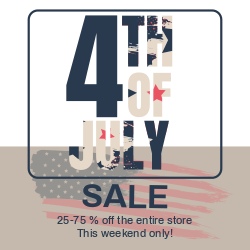4th of July Sale Poster | Customizable Template