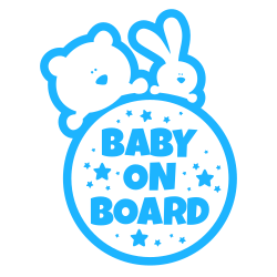 Baby on board custom template