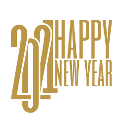 2021 New Year signage template