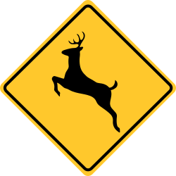 Deer Crossing Sign | Helps drivers pass safely