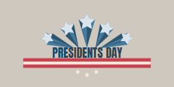 Presidents Day template for celebrating upcoming federal holiday
