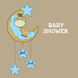 Customizable Baby Shower templates available on Square Signs. Choose from hundreds of professionally designed templates and add the baby boy name and date.
