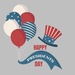 Presidents' Day Design Templates provided by Square Signs. A plenty of templates to choose and print or else change anything on the template and turn it into a perfect decoration.