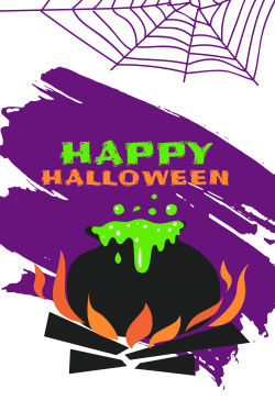 Fully customizeable Halloween template